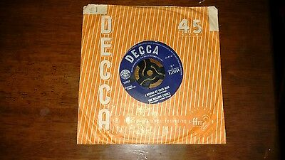 """The Rolling Stones: I Wanna Be Your Man (7"""" Single) F.11764 DECCA 1963"""
