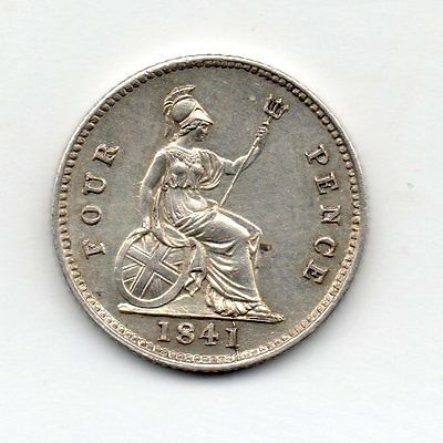 1841 Groat, Victoria Young Head