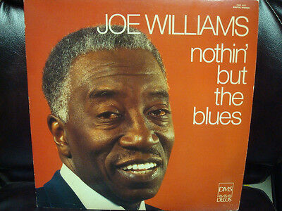 Joe Williams Autographed  Record Lp Nothin' But Blues