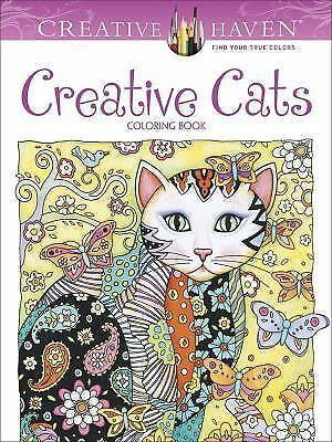 Creative Haven Creative Cats Coloring Book (Adult Coloring) by Marjorie Sarnat,