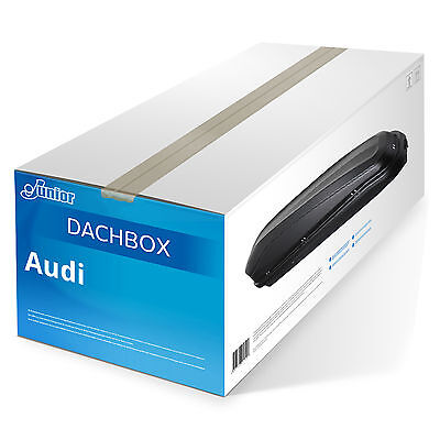 Dachbox Easy 300 Junior - schwarz - 300 L Audi  NEU TOP Autobox