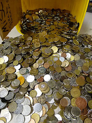 5 Lbs OF ARCADE, CAR WASH, OTHER TOKENS