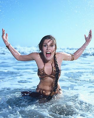 """Carrie Fisher 10"""" x 8"""" Photograph no 15"""