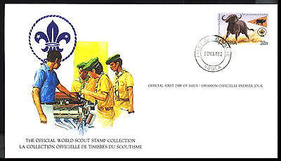 1982 Zambia - Official World Scout Stamp Collection - Fdi - Cover - J47