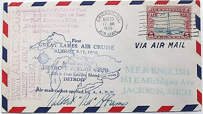 Talbert Abrams ''Father Of Aerial Photography'' Aviation Pioneer Autograph