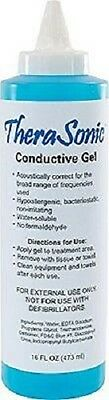 TheraSonic LS5266 Conductive Gel, 16-oz. Bottle, Blue New (AQUASONIC REPLACEMENT