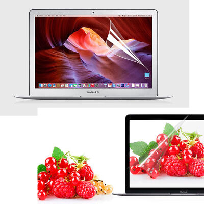 Clear Screen Protector Cover Skin For Macbook Air Pro 11 12 13 15 & Retina