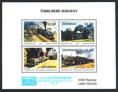 1993 Australia - Taipei '93 O/p - Thirlmere Railway Nsw R/way Letter Stamp - J47