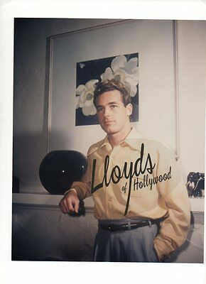 Guy Madison Handsome Hunk  Movie Star At Home Candid  Photograph 1945