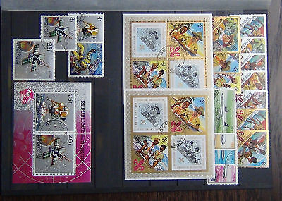 Burundi 1967 Scouts M/S x 2 Perf Imperf 1967 Airport 1968 Space M/S Fine Used