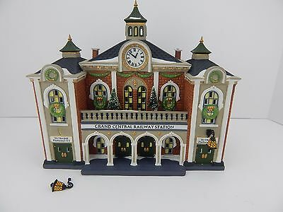 Dept 56 Christmas in the City Grand Central Railway Station #58881 CIC D56