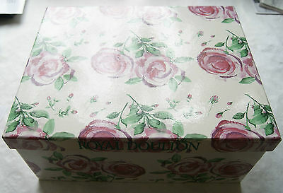 2004 Royal Doulton Vase - Rose Clouds -  in box - Unused - Mint Condition