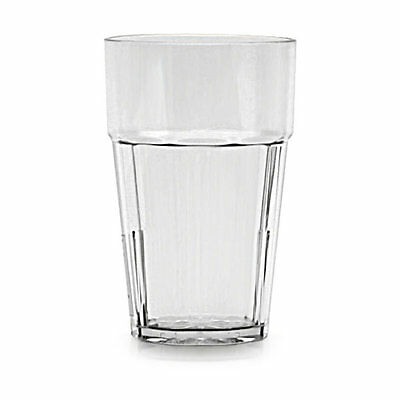 Thunder Group PLPCTB120CL 1dz 20 oz. Clear Plastic Tumbler