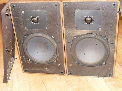 Vintage Grundig Box 550b HiFi Stereo Speakers, Great Sounding Hi-Fi Loudspeakers