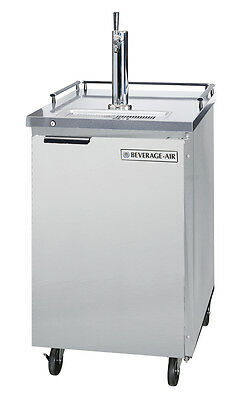 Beverage-Air BM23-S-31 7.8 CuFt Portable S/S Refrigerated Draft Beer Dispenser