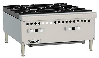 "Vulcan VCRH24 Medium Duty 24"" Four Burner Countertop Hot Plate"
