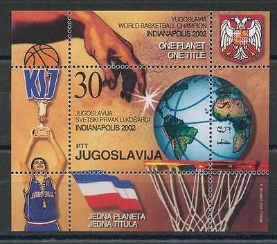 598420) Jugoslawien Block 54** Basketball