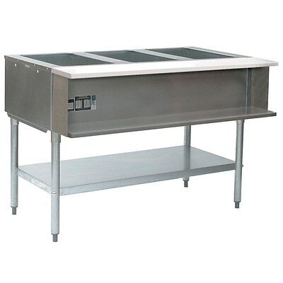 "Eagle Group AWT4-LP 4-Well Water Bath Steam Table 63-1/2"", LP Gas"