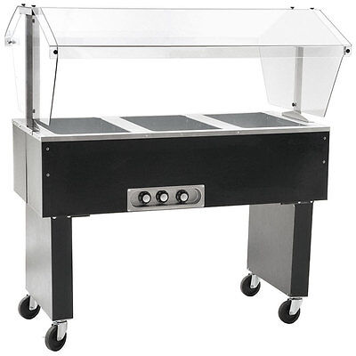 Eagle Group Deluxe Serving Mate 3-Well Electric Hot Food Table / Buffet
