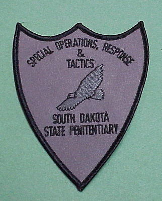 South Dakota  State Penitentiary  Sort  Subdued  Police Patch   Free Shipping!!!