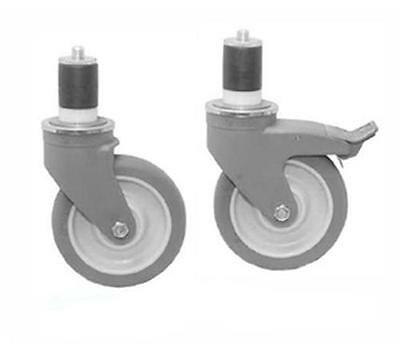 """Eagle Group 6 Optional Casters For Eagle Group Hardwood Bakers Tables 5"""""""