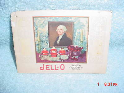 Jell-O Recipe Booklet Cookbook - 1926