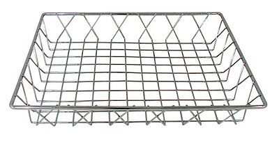 Update PB-1412 14in x 12in x 2in Chrome Plated Pastry Bread Basket