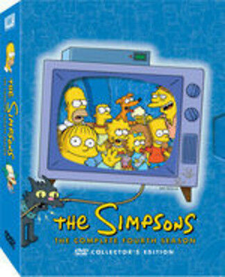 Simpsons: The Complete Fourth Season [4 Discs] (2012, REGION 1 DVD New)
