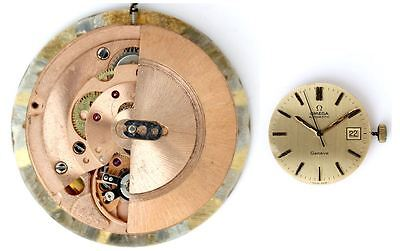 OMEGA 1481 original automatic watch movement working (4685)