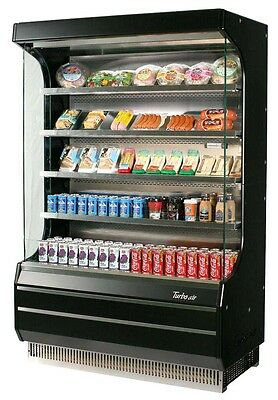 Turbo Air Refrigerated Open Display Case 39 x 28 Black TOM-40B