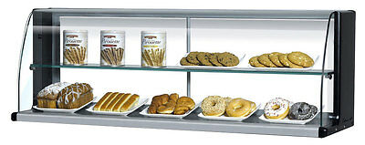"Turbo Air Slimline 28"" Horizontal High Top Display Case for TOM-30S"