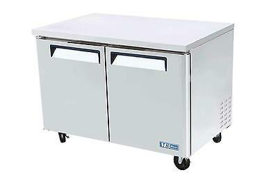 """Turbo Air 48"""" Under Counter Stainless 12 Cu.Ft Freezer MUF-48"""
