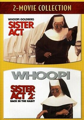 Sister Act/Sister Act 2: Back in the Habit [2 Discs] (2007, REGION 1 DVD New)