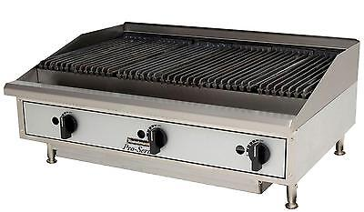 "Toastmaster TMRC48 Countertop 48"" Radiant Style Gas Charbroiler"