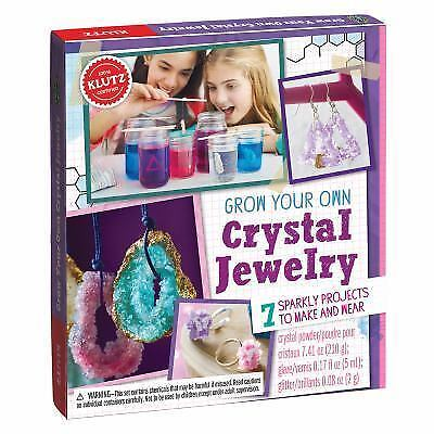 Grow Your Own Crystal Jewelry by Editors Of Editors Of Klutz (2016, Hardcover)