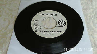 """The Vejtables LAST THING ON MY MIND 7"""" promo garage psych freakbeat"""