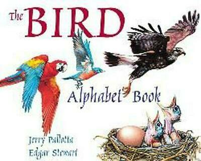 The Bird Alphabet Book by Jerry Pallotta (English) Hardcover Book Free Shipping!
