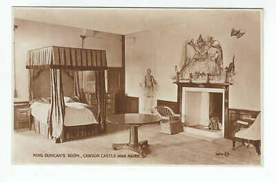 King Duncan's Room Cawdor Castle Nairn1889 Real Photograph Campbell Stationer