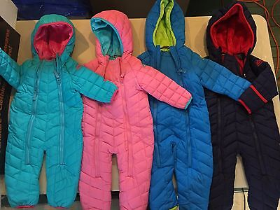 NEW Boy's/Girl's  Snozu Infant 1 Piece Snow Suit Variety of Sizes & Colors