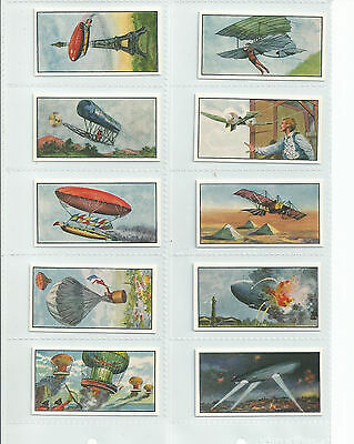 Exc 1963 Rossi's Ices Set......the History Of Flight 1St Series Cat £25.00