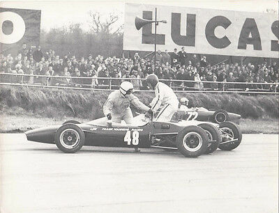 FRANK MANNING RACING, CAR No.48, SILVERSTONE EASTER MONDAY 1967, PHOTOGRAPH.