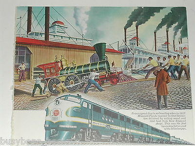 1945 General Motors Diesel advertisement, EMD, Missouri Pacific FT 508