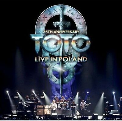 Toto - 35th Anniversary Tour Live in Poland [New CD]