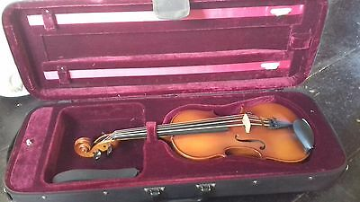 Sonic Violins Chincello.   Octave Viola Body Tuned As A Cello, With Bow And Case