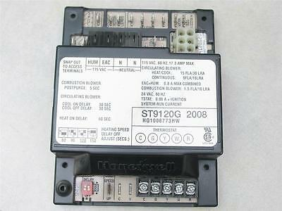 Honeywell ST9120G2008 Furnace Fan Control Circuit Board HQ1008773HW