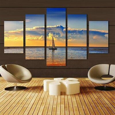 NEW Canvas Print Modern Home Wall Art Decoration Landscape Painting No Frame