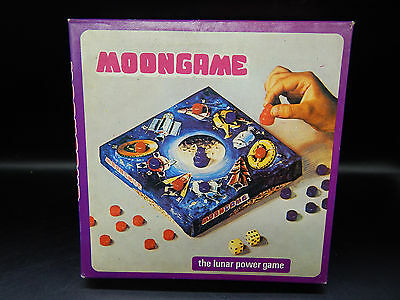 1970's vintage MOONGAME the lunar power game Moon Game boardgame MINT unused !!!