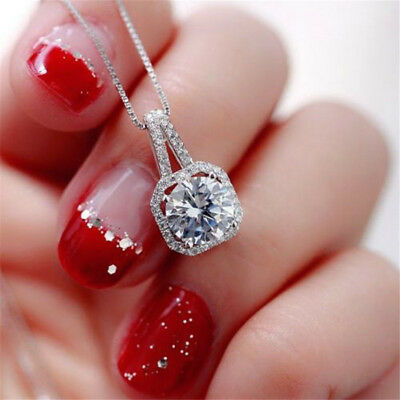 New Fashion Crystal Charm Pendant Jewelry Chain Chunky Statement Choker Necklace