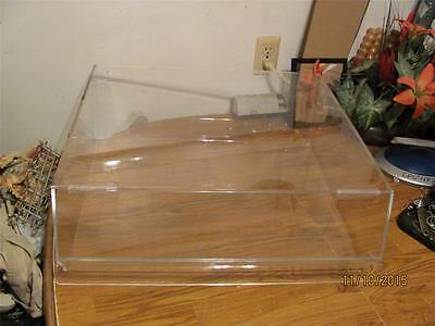 Cal-Mil  Acrylic Bakery Bagel  Muffin Pastry Display -Front Door Selfserve-Uc