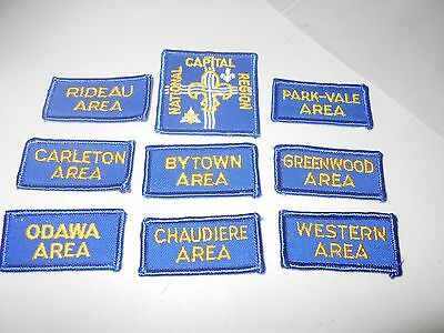 (Pp1-R) National Capital Region Plus Eight Strips  Square Corners  Unused